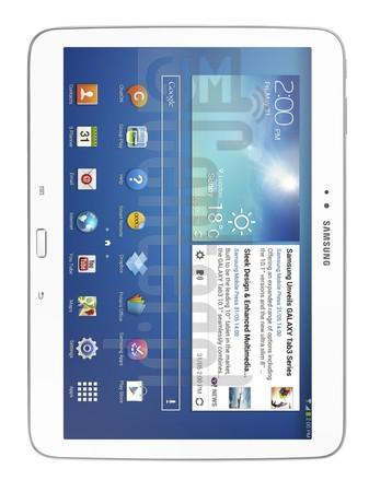 SAMSUNG P5200 Galaxy Tab 3 10.1 3G (GT-P7500)