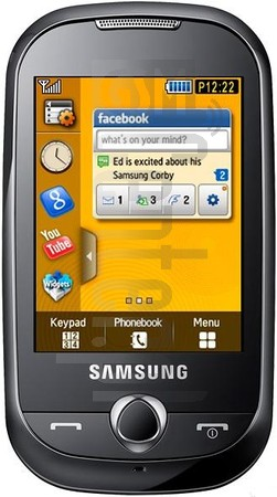 SAMSUNG S3650 Corby (GT-S3650)